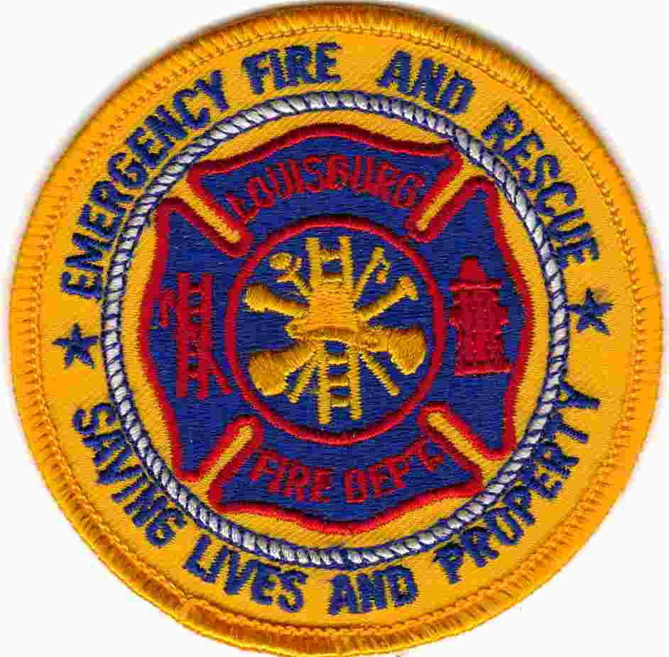 Louisburg Fire Patch
