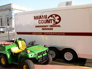Special Operations Trailer and Gator